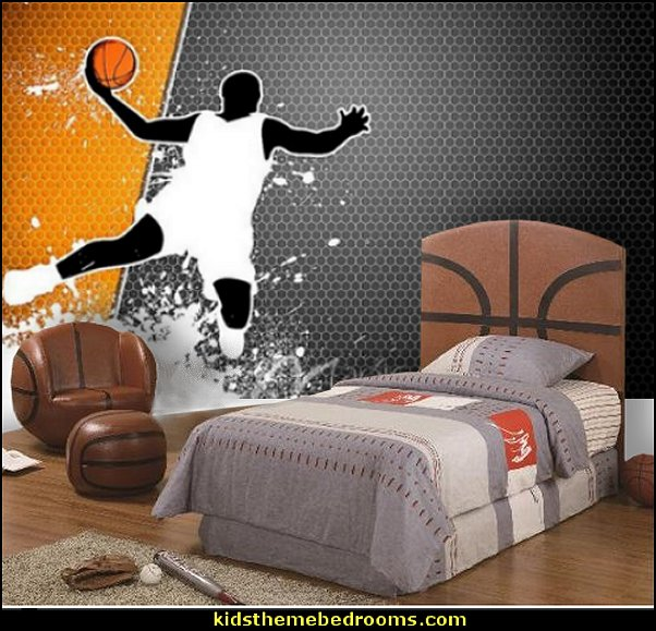 basketball bedroom furniture  basketball bedroom ideas - Basketball Decor - basketball wall murals - basketball bedding - basketball wall decal stickers - basketball themed bedrooms - basketball bedroom furniture - basketball wall decorations - Basketball wall art - Basketball themed rooms - basketball bedroom furniture - NBA bedding - Boys basketball theme