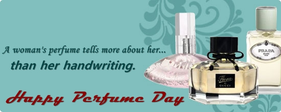Perfume Day 2018 Images Wallpapers Greetings Cards Pictures