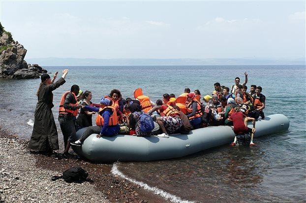 Αυξημένες οι αφίξεις προσφύγων τον Ιούνιο στην Λέσβο