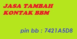 Mau Nambah Kontak Pakai Jasa Tambah Kontak saja  50 ribu di invite 550 kontak bbm