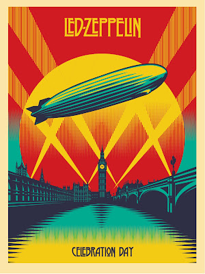 Obey Giant: Led Zeppelin Celebration Day Screen Print by Shepard Fairey