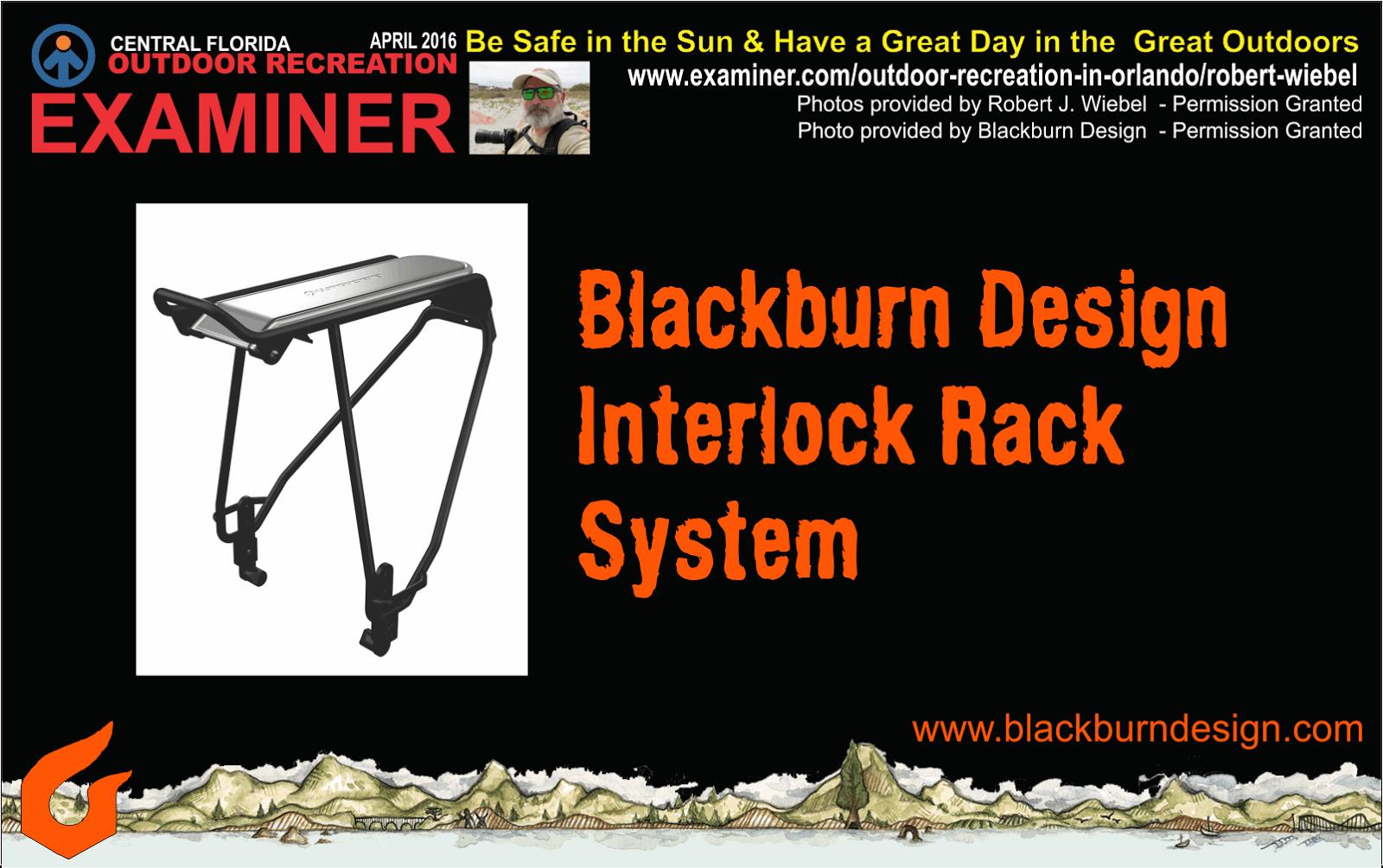 Blackburn Design Interlock Rack System Pannier Bags