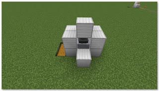 Minecraft 高速トロッコ輸送 アイテム荷降ろし駅 作り方⑤
