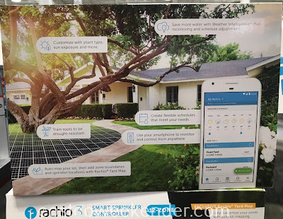 Costco 1311257 - Rachio 3 Smart Sprinkler Controller will save you money on the cost of watering