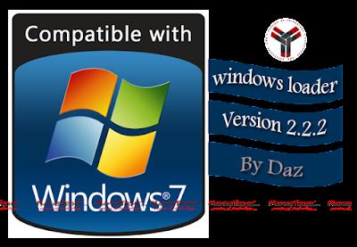 windows 7 loader activator by daz v2.2.2
