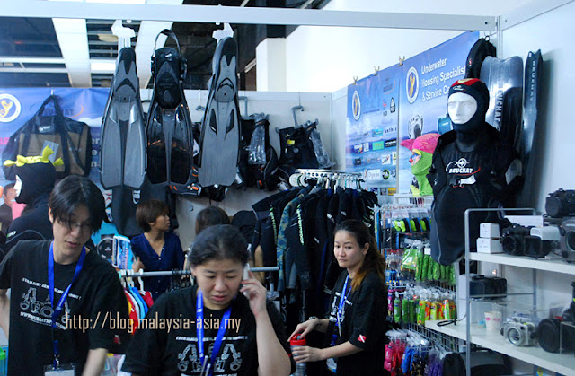 Dive Equipment Sale MIDE Malaysia