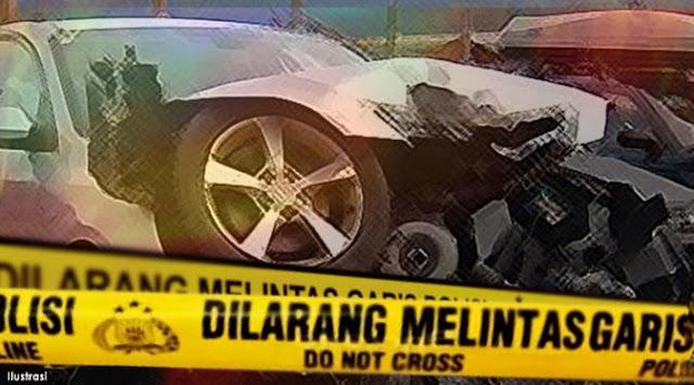 Kecelakaan Mobil di KM 67 Tol Dawuan-Jakarta, 2 Orang Terluka