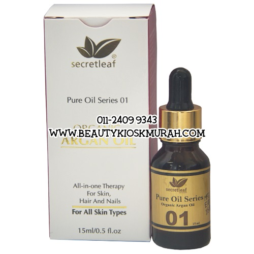 Pure Oil Series 01 Organic Argan Oil