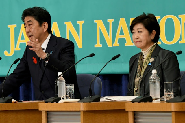 Gloves off as Japan election campaign
