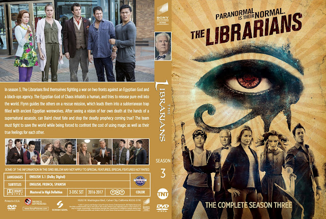 The Librarians Season 3 DVD Cover