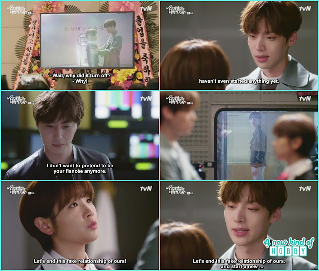 ji woon listen ha won and hyun min fake relationship - Cinderella and Four Knights - Episode 6 Review -