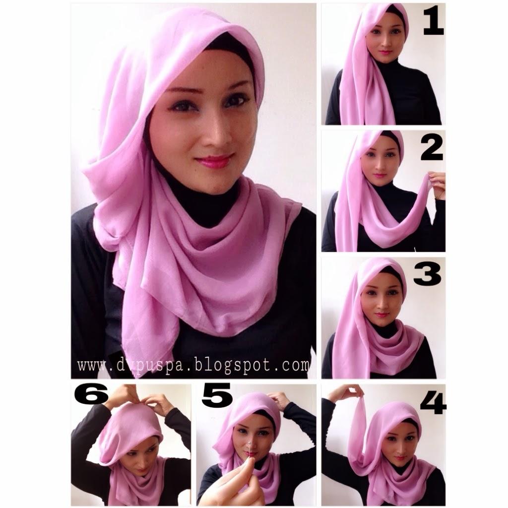 27 Gambar Terbaru Tutorial Hijab Segitiga Paling Baru Tutorial