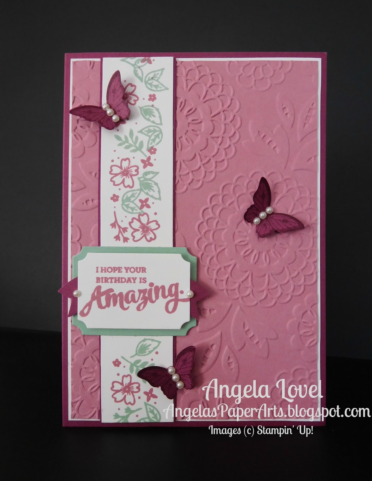 Angelas paperarts birthday mixed borders thursday june 23 2016 kristyandbryce Image collections