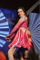 Sunny Leone Dancing on stage At Rogue Movie Audio Music Launch ~  035.JPG