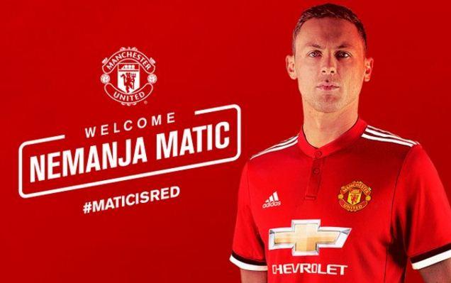 Nemanja Matic Resmi Gabung Manchester United