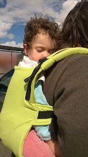 isara ssc fullbuckle anis préformé babycarrier test review avis colimaçon & cie babywearing portage vert anis