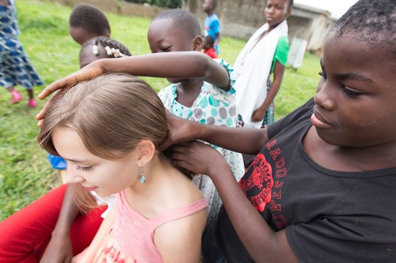 Kids Hair Garnishing