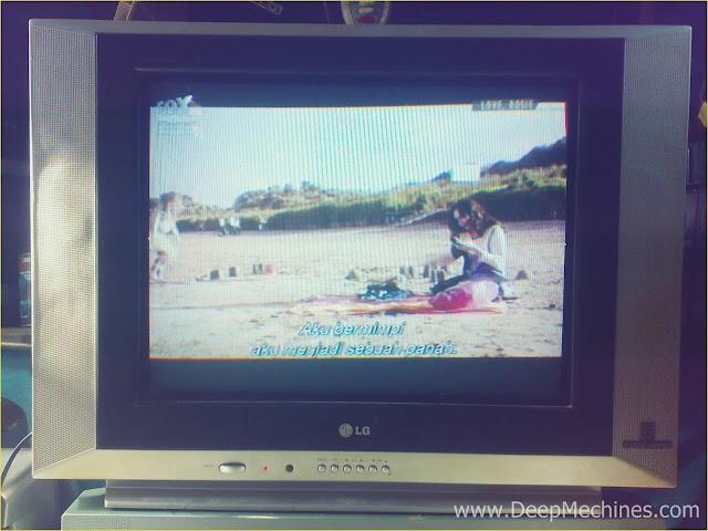 Perbaikan Kerusakan Gambar Terlipat, Bergelombang, Menyempit Atas Bawah TV LG 21-Inch (21FC1AG-TH) selesai diperbaiki