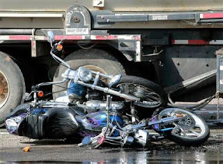 Truck Crush Motorcycle