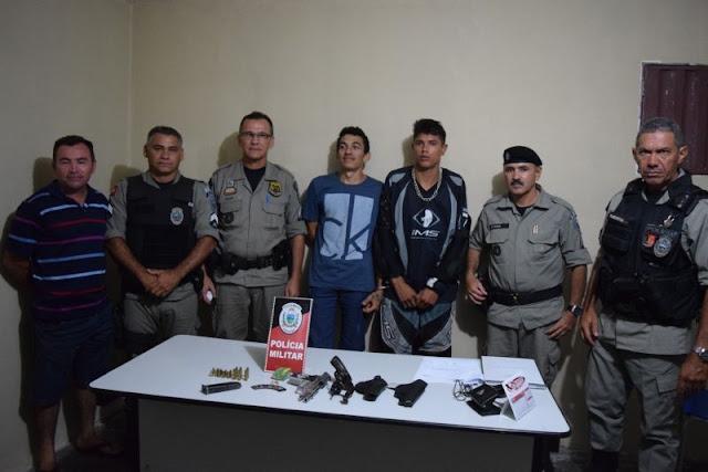 No Vale do Piancó: Traficantes são presos pela a Polícia Militar; confira...