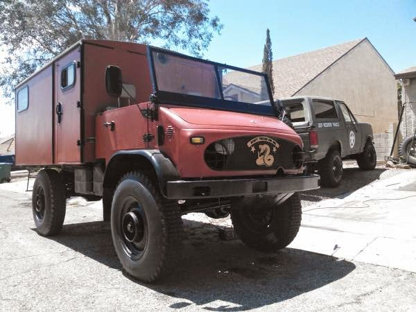 Used rvs 1958 mercedes benz unimog off road rv for sale by for Mercedes benz unimog for sale