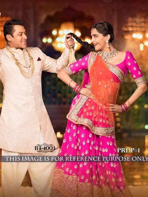 Sonam Kapoor's Beautiful Lehenga Choli in Prem Ratan Dhan Payo