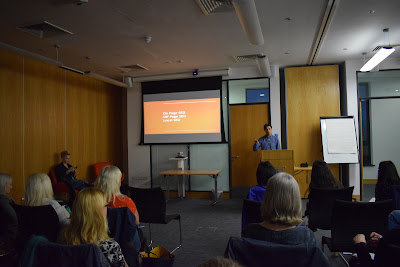 Mark Russell speaking content and SEO at business club