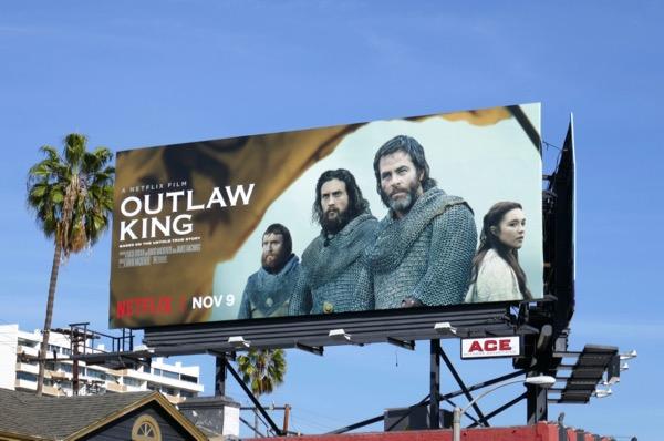 Outlaw King Netflix billboard