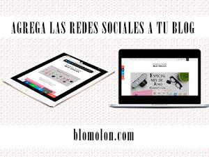 Agrega las Redes Sociales a Tu Blog