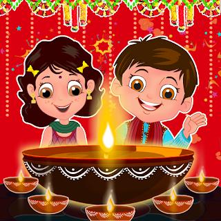 Happy Diwali 2016 images kids 3