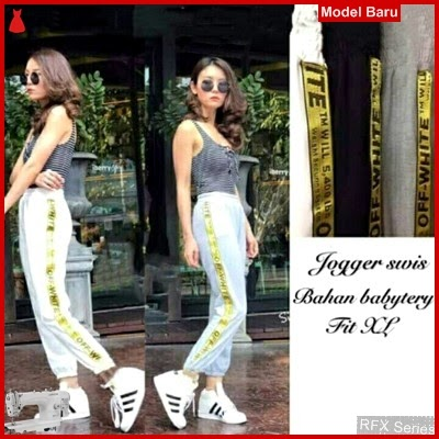 RFX183 MODEL JOGGER SWIS FIT TO XL PINGGANG KARET MURAH ONLINE