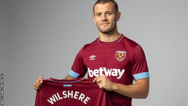 Jack Wilshere joins West Ham on three-year deal