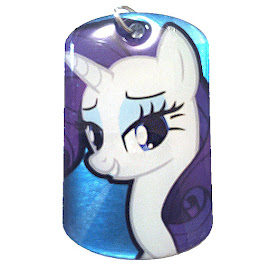 My Little Pony Rarity Series 1 Dog Tag