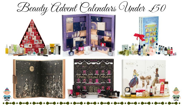 Beauty Advent Calendars Under £50