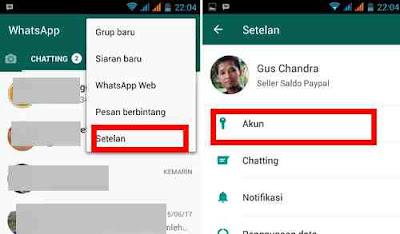 Cara Sembunyikan tanda Terakhir dilihat di whatsapp
