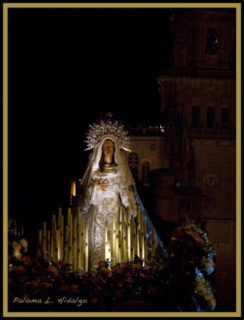 semana santa Salamanca Virgen del Amor y Paz