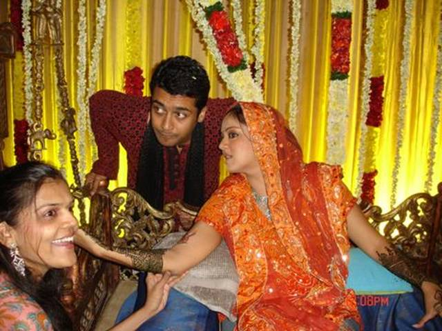 Wedding Pictures Wedding Photos Surya Jyothika Wedding Photos