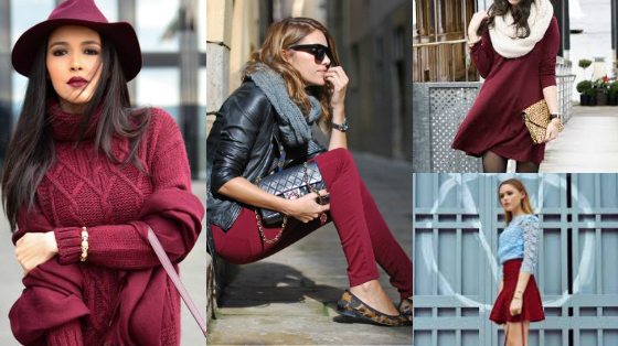 marsala - Looks com a cor mais chic do inverno