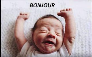 bonjour messages