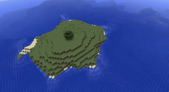 Minecraft Survival Island Seed