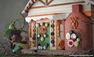 Sylvanian Families Haloween diorama