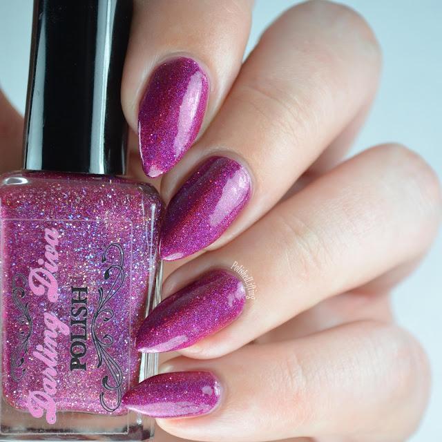 raspberry nail polish
