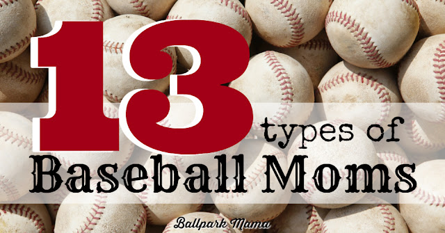 From Politician Mom to CIA Mom, this funny list has every type of Baseball Mom covered. Which one are you?