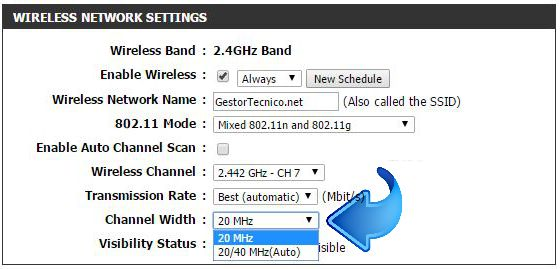 Wireless-modo-automático-20-40-MHz