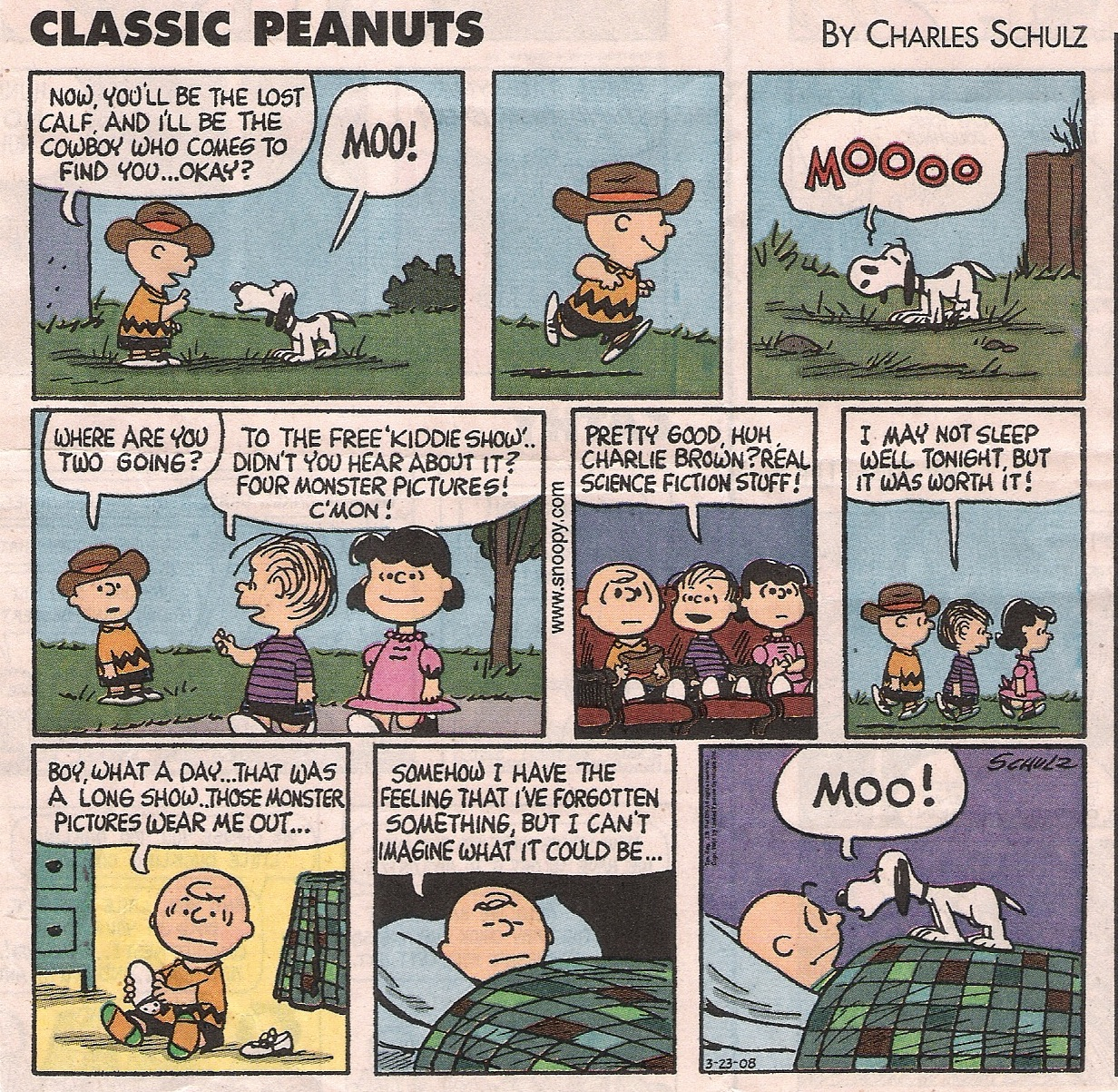 ... has been releasing beautifully bound collections, ultimately comprising  the entire run of Charles Schulz's comic strip masterpiece
