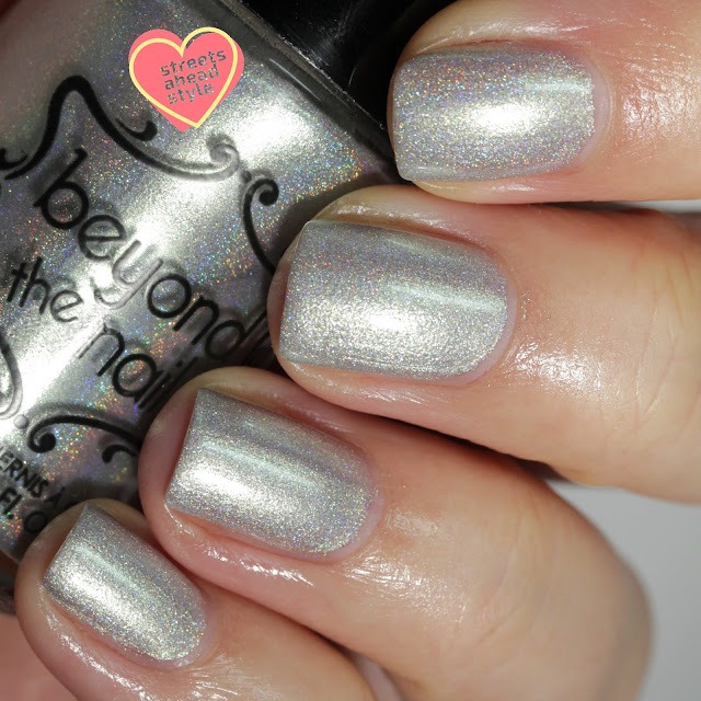 Beyond the Nail Ghost of Christmas Future swatch by Streets Ahead Style
