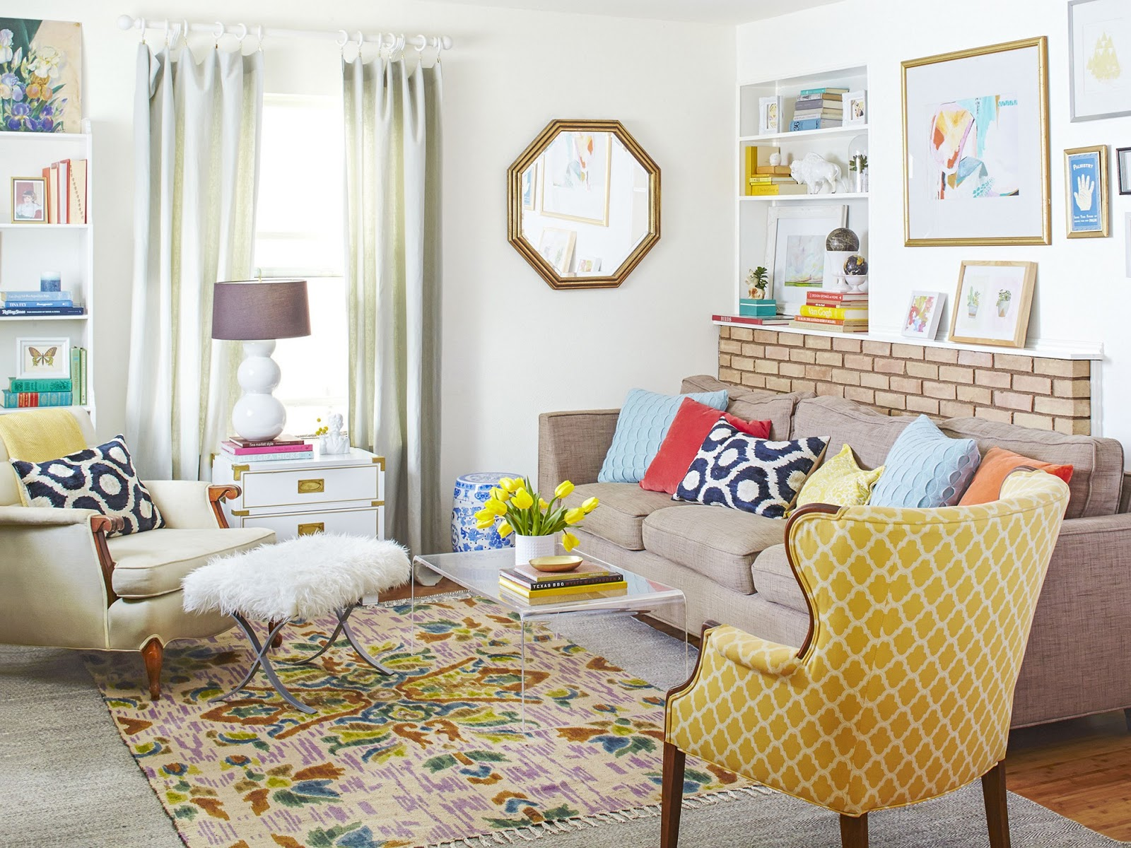Beautify the room with Eclectic Style Home Furniture   Art Home ...