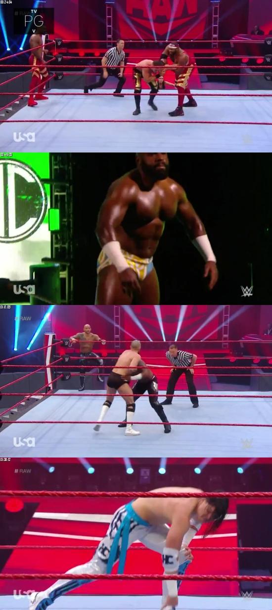 WWE Monday Night Raw 06 April 2020 HDTV 720p 480p 500MB