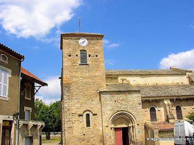 Eglise saint Médulphe de saint Myon. Façade sud