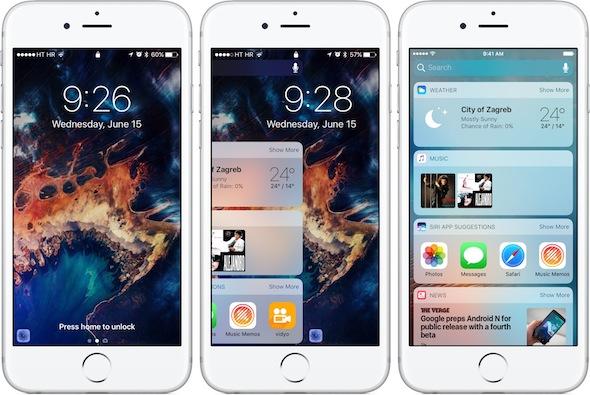 ملاحظات هامة قبل التحديث iOS 10